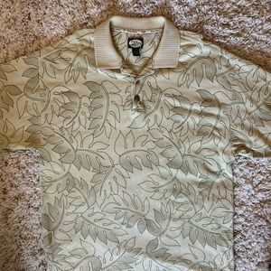 Vintage Floral Tommy Bahama Mens Polo (Large)